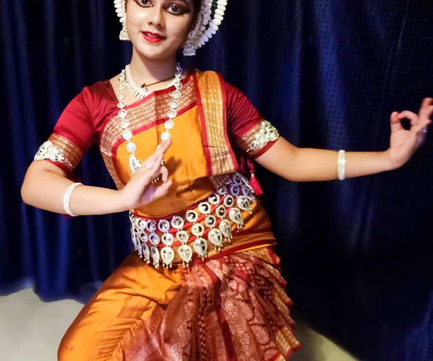 SAMRIDHHI MITRA ODISSI DANCER BY MAGIC BOOK OF RECORD