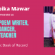 Deepika Mawar Best Poem Writer Best Teacher - Magic Book of Record