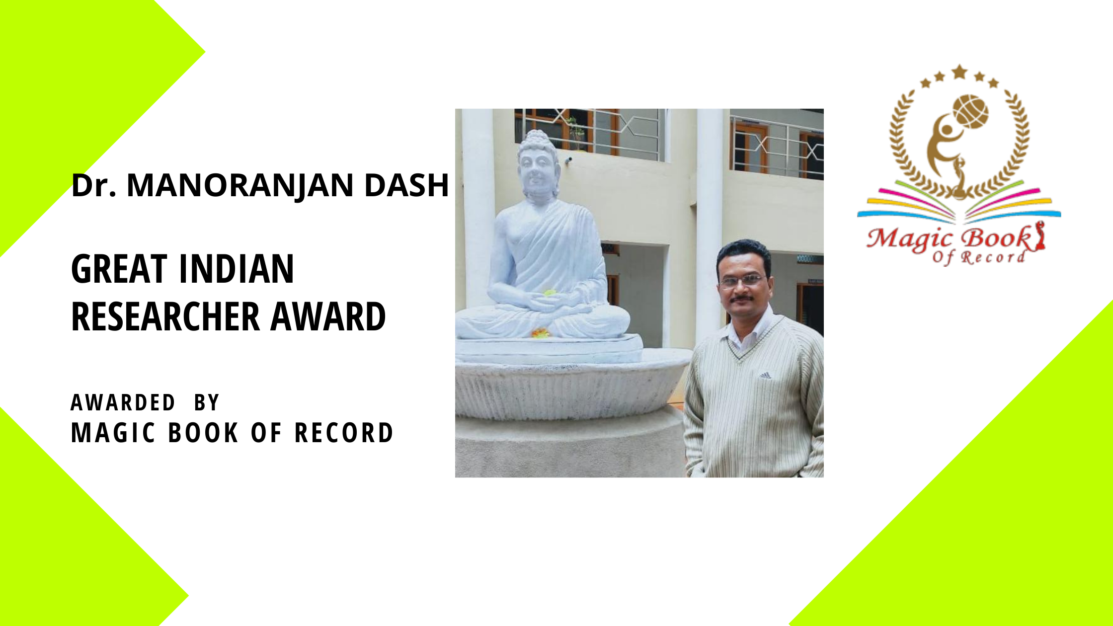 Dr Manoranjan Dash - Magic Book Of Record