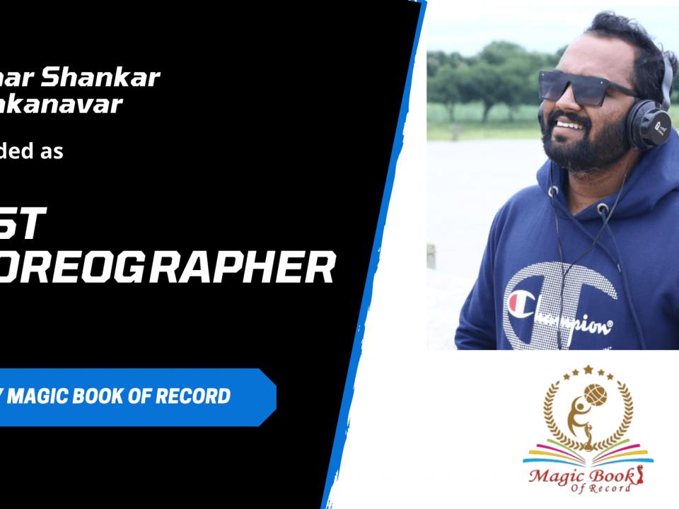 Kumar Shankar Borakanavar Dance Choreographer