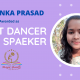 Priyanka Prasad Best Singer Speaker - Magic Book of Record