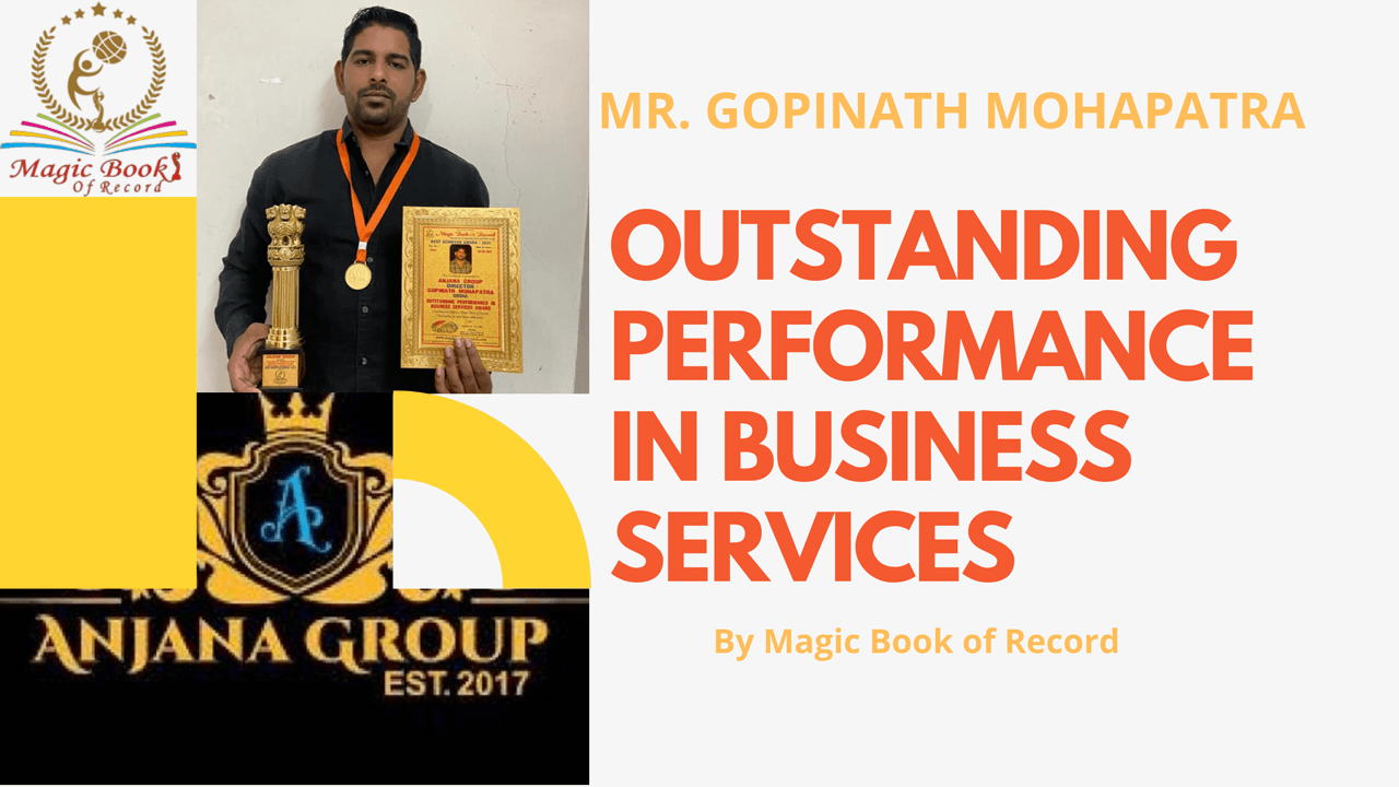 ANJANA GROUP- Magic Book of Record