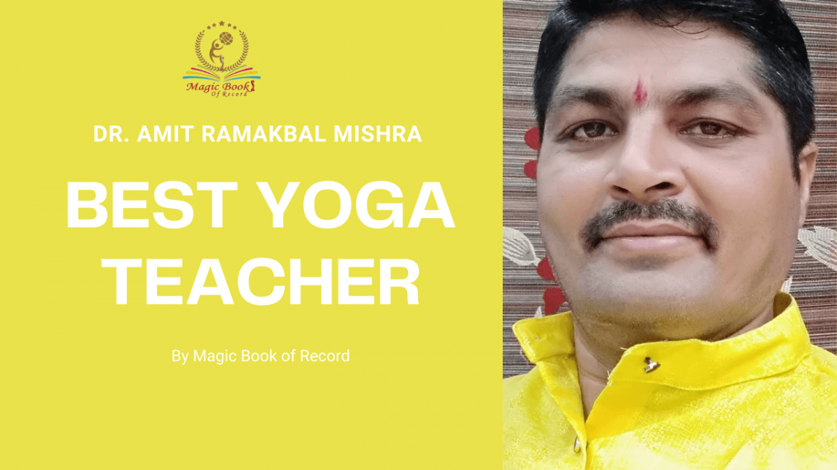 Amit Ramakbal Mishra -Magic Book of Record