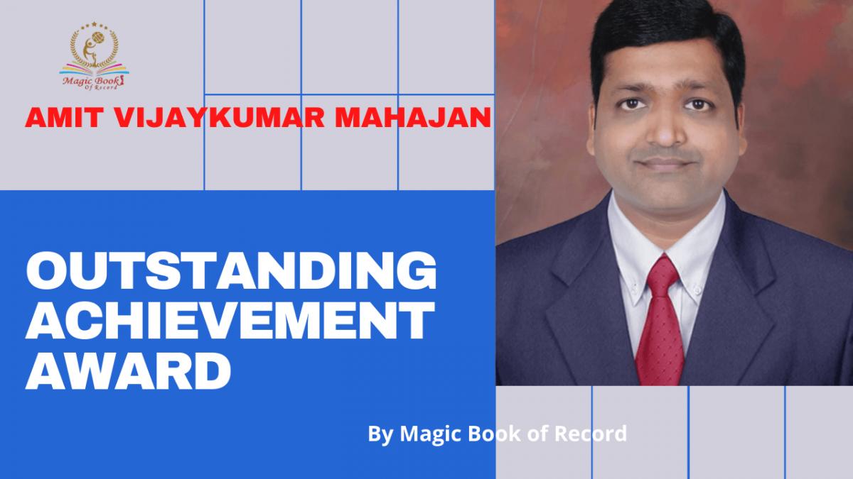 Amit Vijaykumar Mahajan- Magic Book of Record