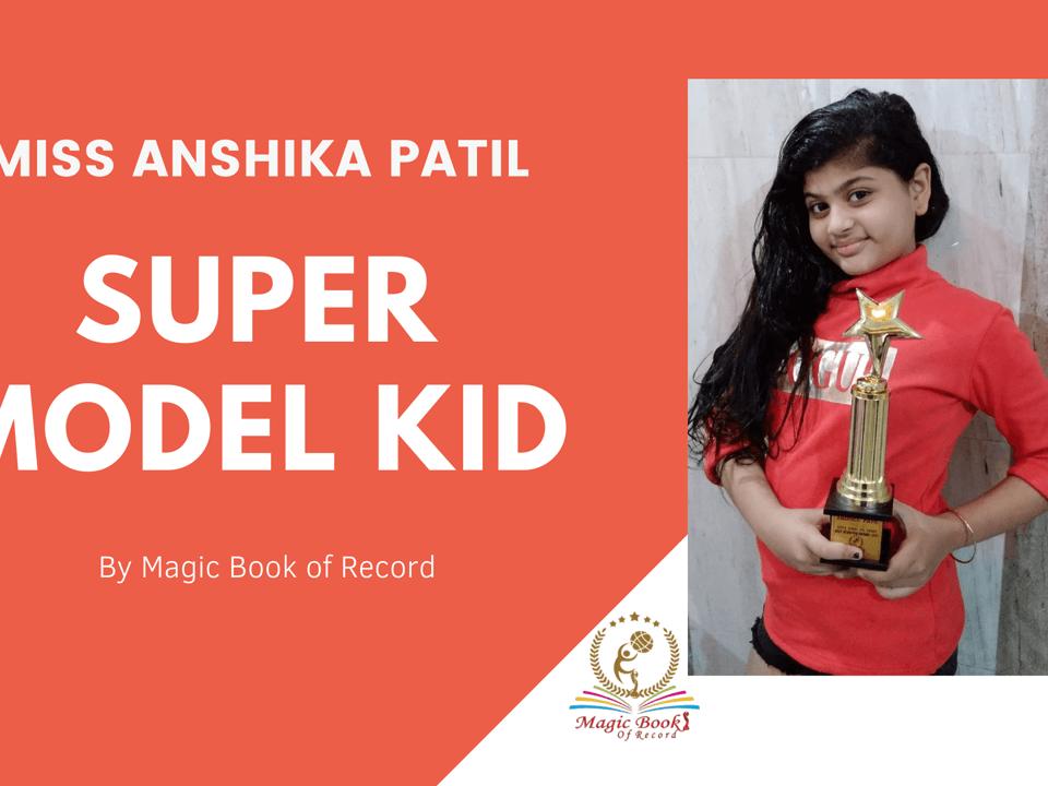 Anshika Patil- Magic Book of Record