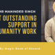 Mr Maninder Singh Best Outstanding Support in Humanity Work - Magic Book of Record
