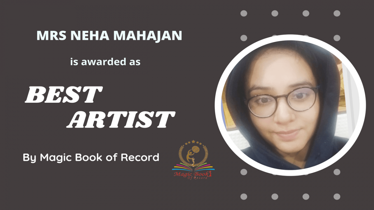 NEHA MAHAJAN- MAGIC BOOK OF RECORD