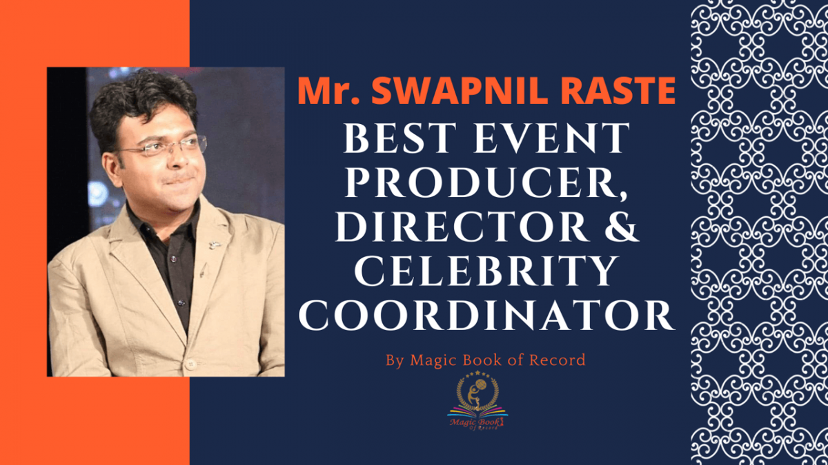 SWAPNIL RASTE - Magic Book of Record