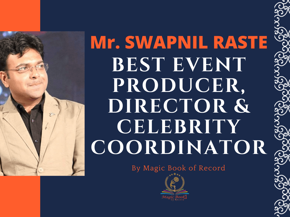 SWAPNIL RASTE - Magic Book of Record