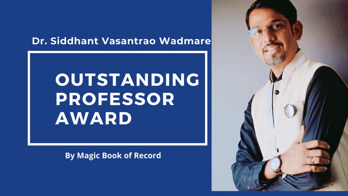 Siddhant Vasantrao Wadmare- Magic Book of Record