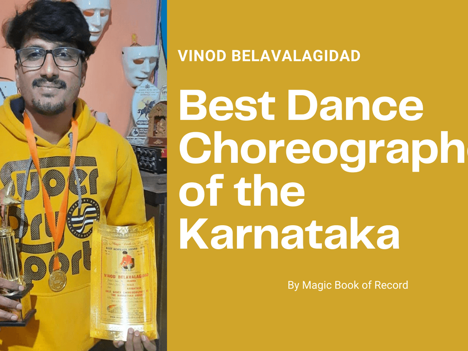 Vinod Belavalagidad- Magic Book of Record