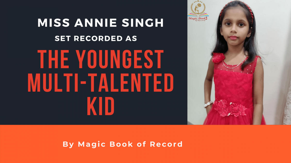 ANNIE SINGH- Magic Book of Record