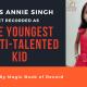 ANNIE SINGH- Magic Book of Record