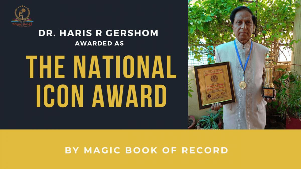 Dr HARIS R GERSHOM- Magic Book of Record