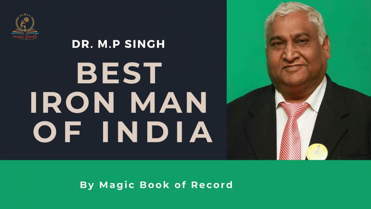 Dr M P Singh - Magic Book of Records