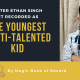 Ethan Singh - Magic Book of Record
