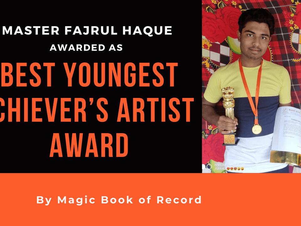 FAJRUL HAQUE - Magic book of Record