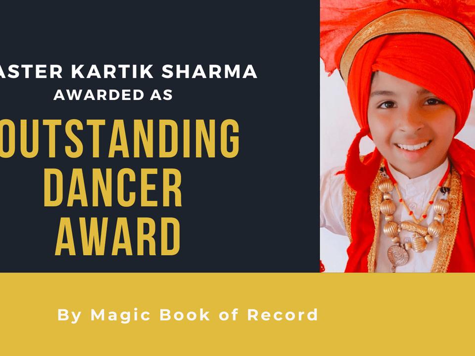 KARTIK SHARMA- Magic Book of Records