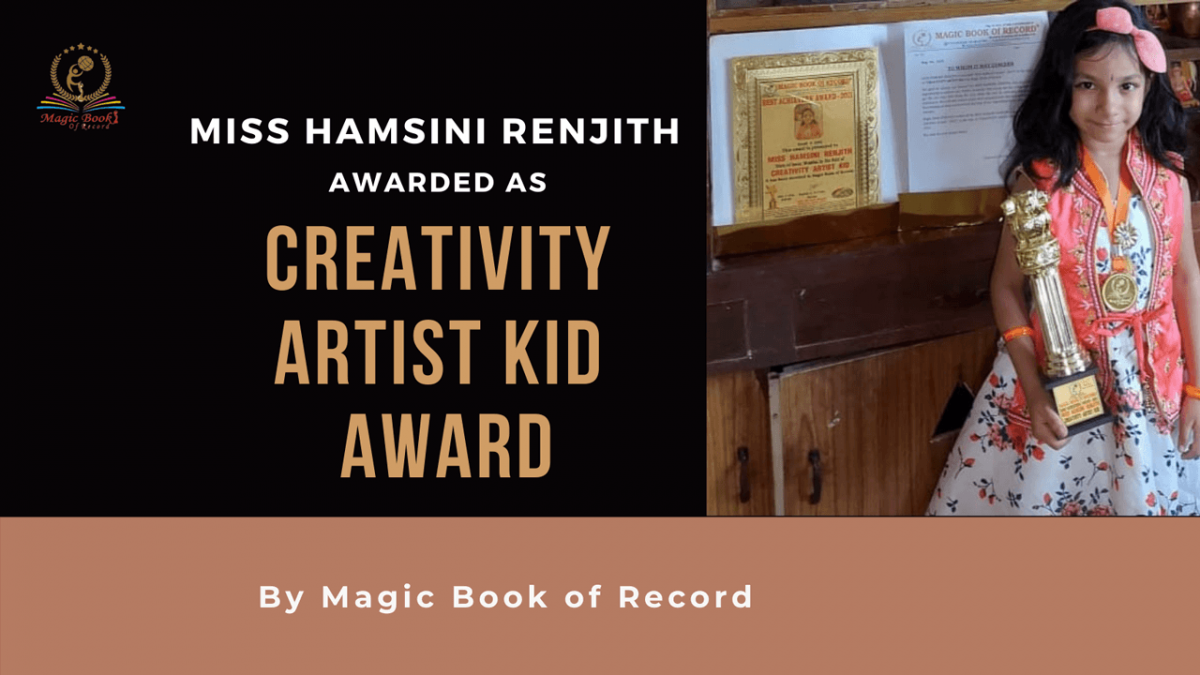 Hamsini Renjith- Magic Book of Record