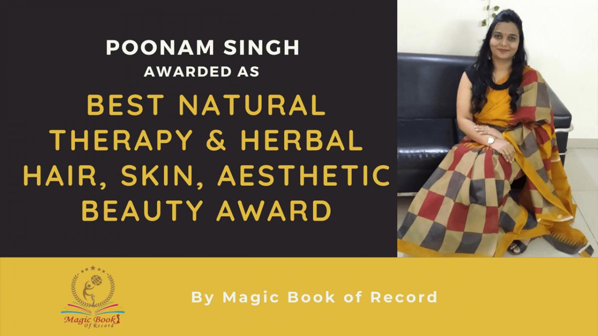 Poonam Singh- Magic Book of Record