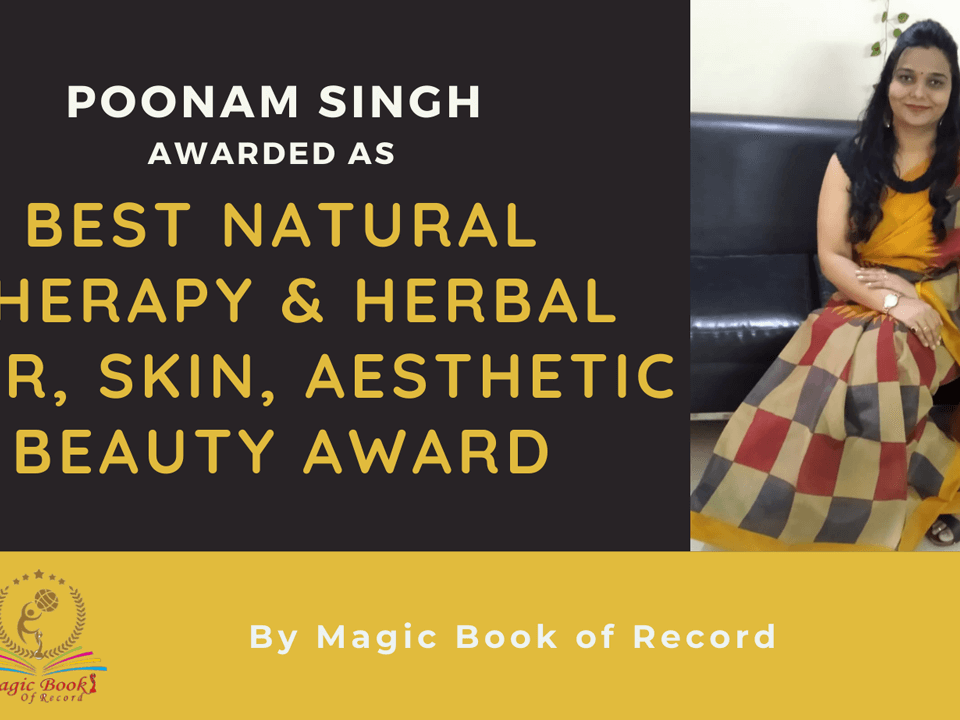 Poonam Singh- Magic Book of Record