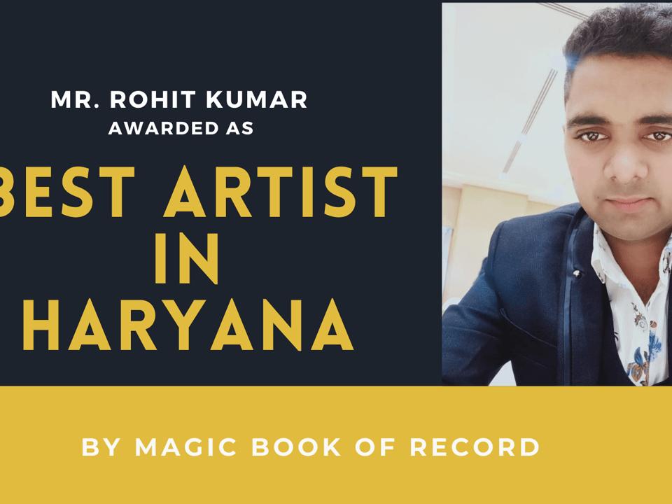 ROHIT KUMAR- Magic Book Of Records