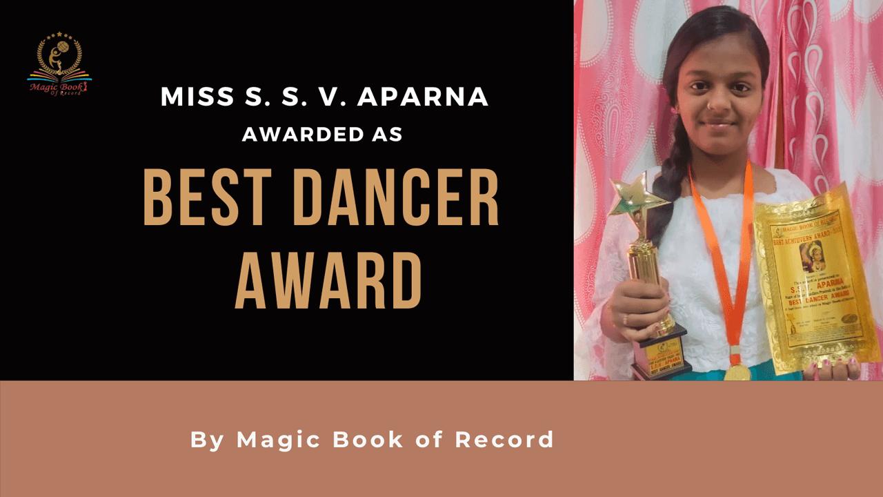 S. S. V. APARNA-Magic Book of Record