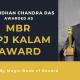 Bidhan Chandra Das APJ KALAM AWARD - Magic Book of Record