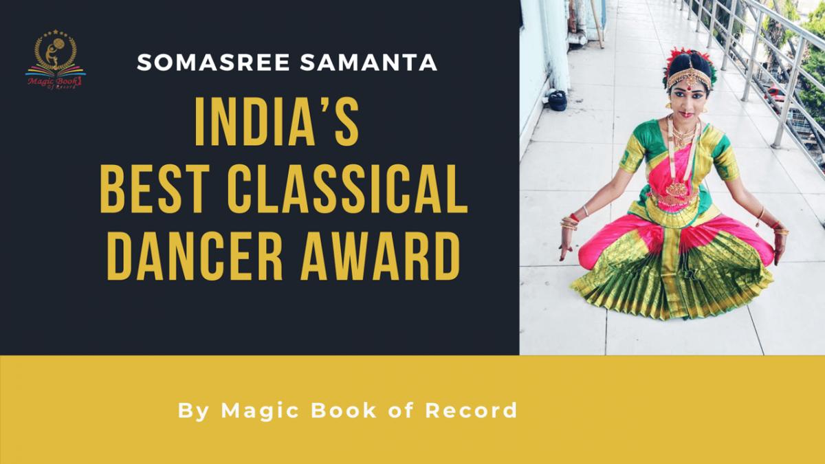 Somasree Samanta - Magic Book of Record