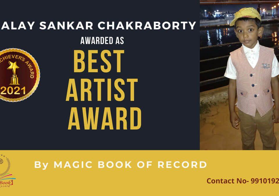 Alay Sankar Chakraborty- Tripura-Magic Book of Record
