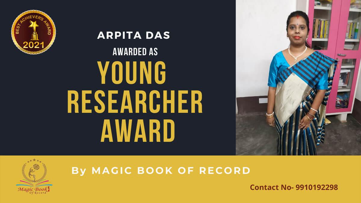Arpita Das - West Bengal - Magic Book of Record