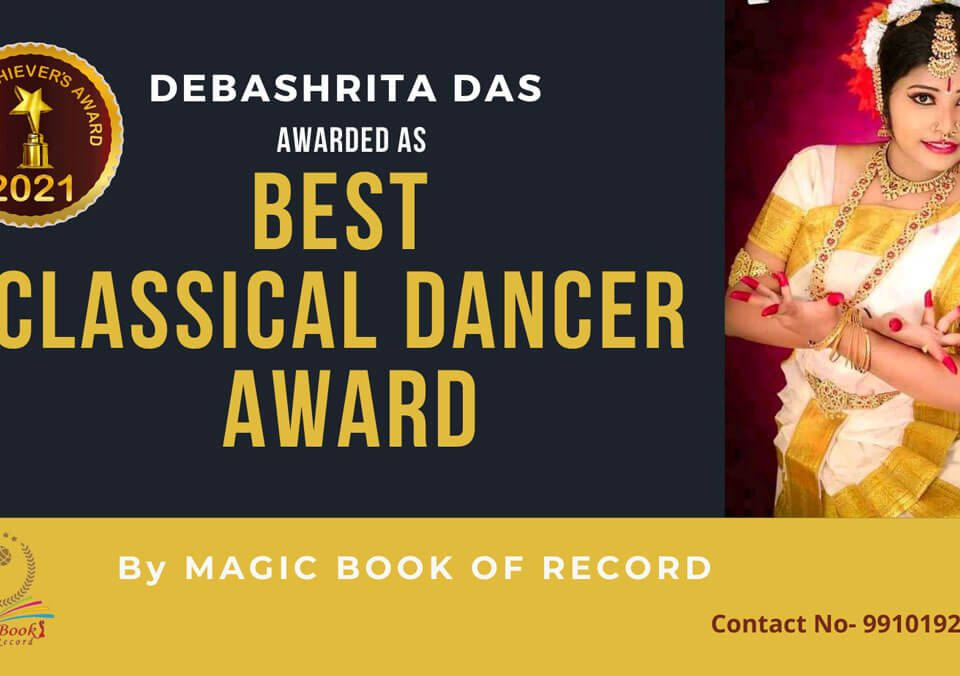 Debashrita Das-West Bengal-Magic Book of Record