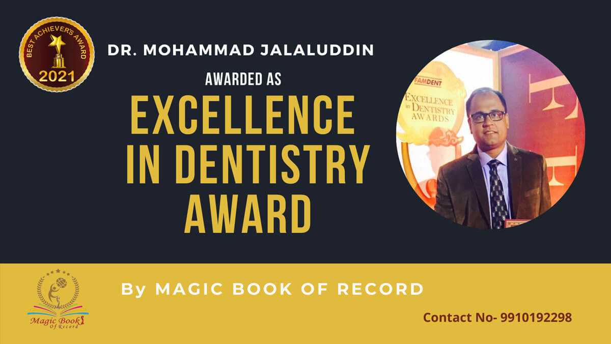Dr. Mohammad Jalaluddin-Odisha-Magic Book of Record