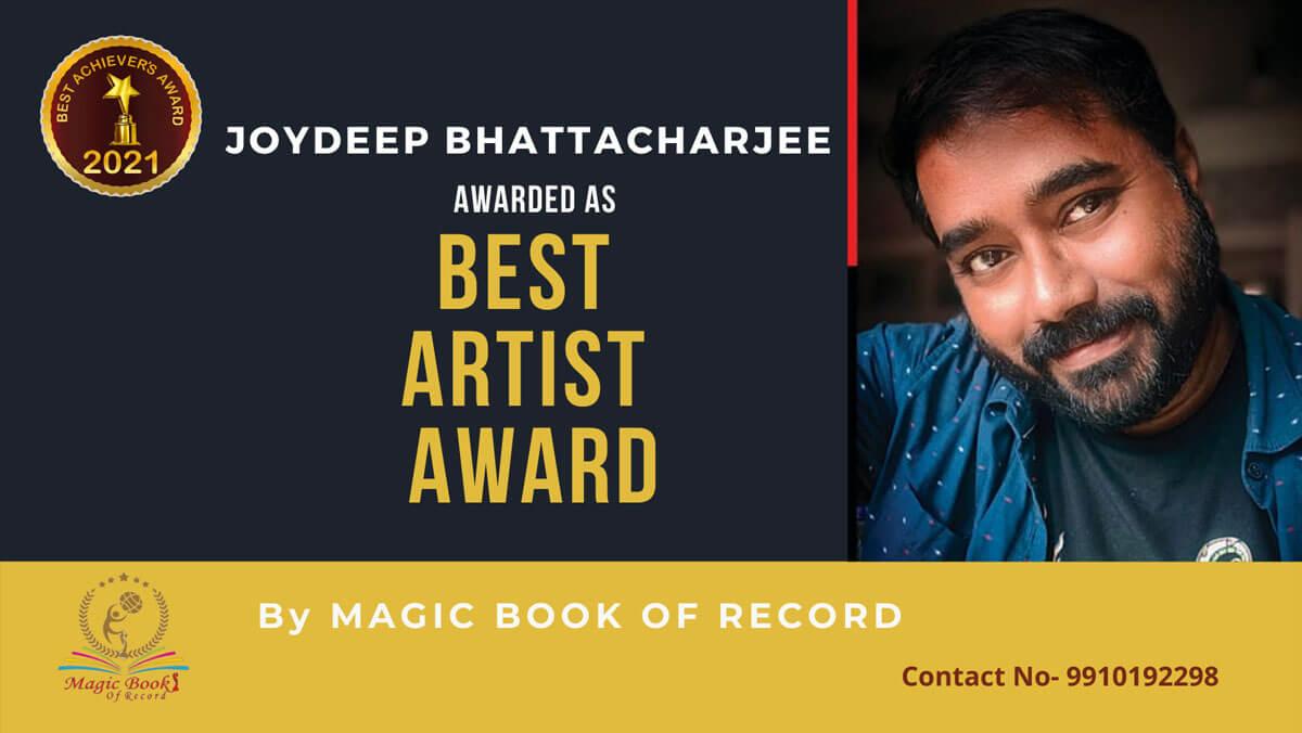 Joydeep Bhattacharjee-Tripura-Magic Book of Record