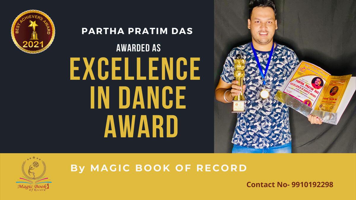 Partha Pratim Das- Assam-Magic Book of Record