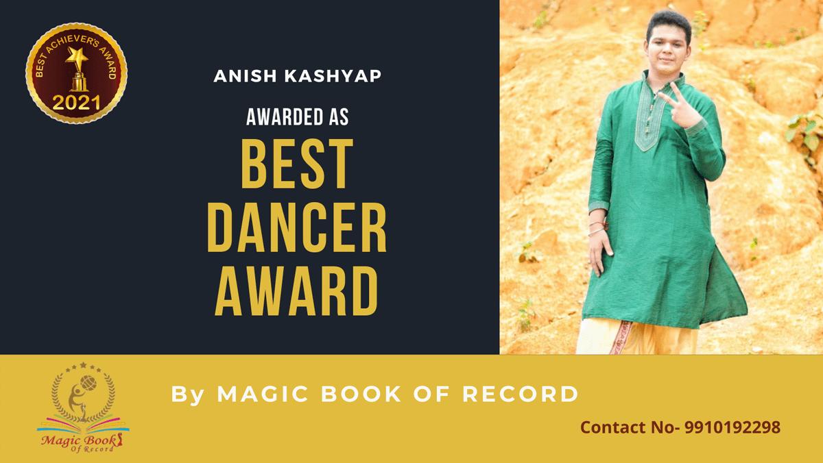 Anish Kashyap-Assam-Magic Book of Record