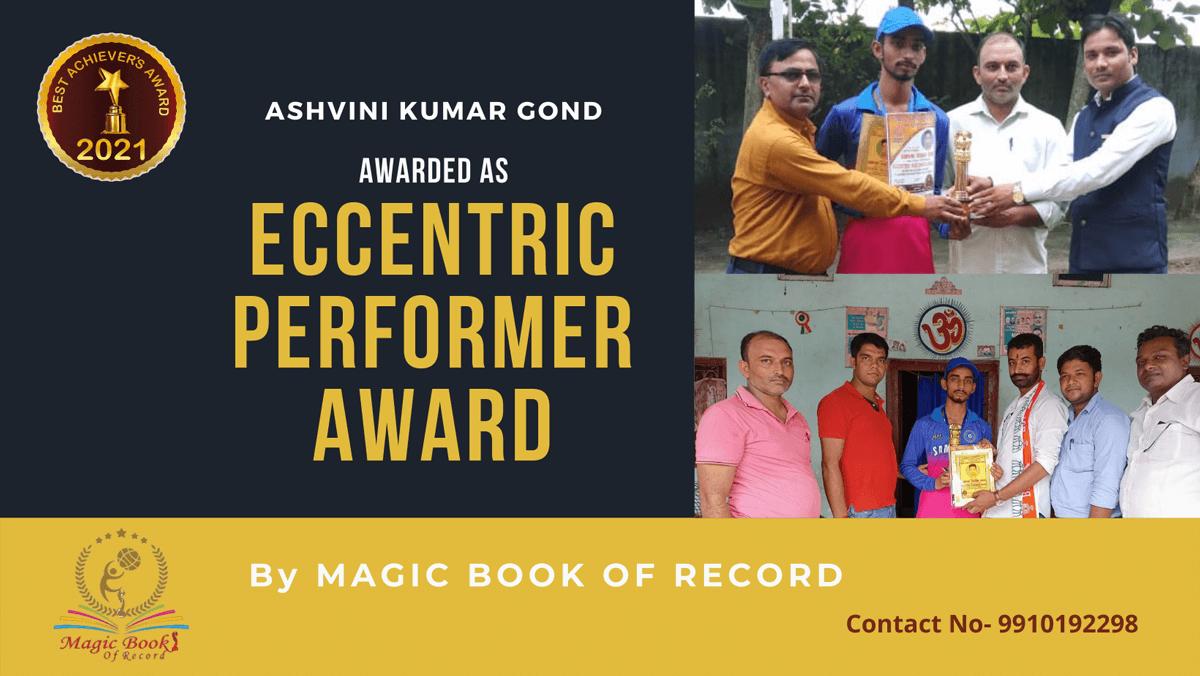 Ashvini Kumar Gond-Uttar Pradesh-Magic Book of Records