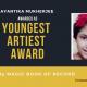 Ayantika Mukherjee-West Bengal-Magic Book of Record