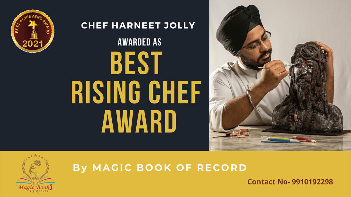 Chef Harneet Jolly-Maharashtra-Magic Book of Record