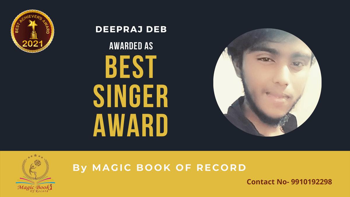 Deepraj Deb-Assam-Magic Book of Records