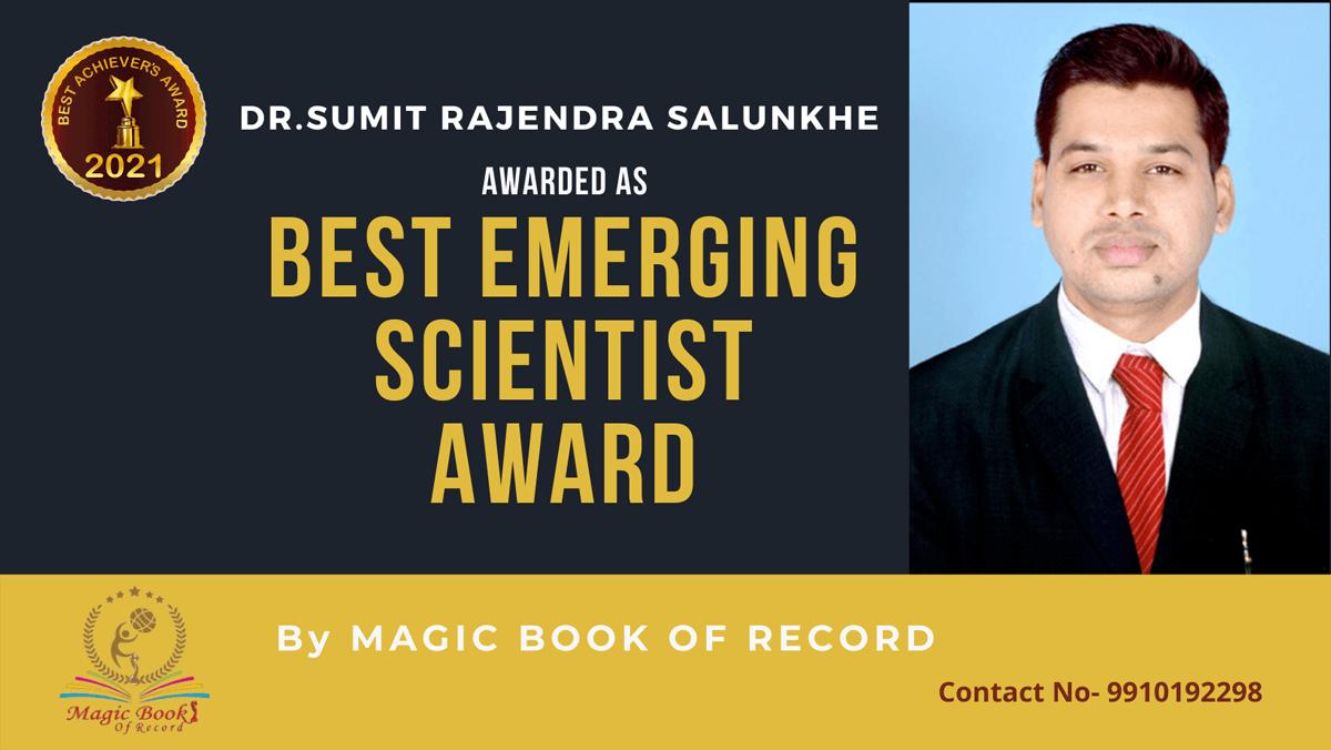 Dr.Sumit Rajendra Salunkhe-Gujarat-Magic Book of Record