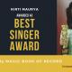 Kirti Maurya-Singer-Uttar Pradesh-Magic Book of Record
