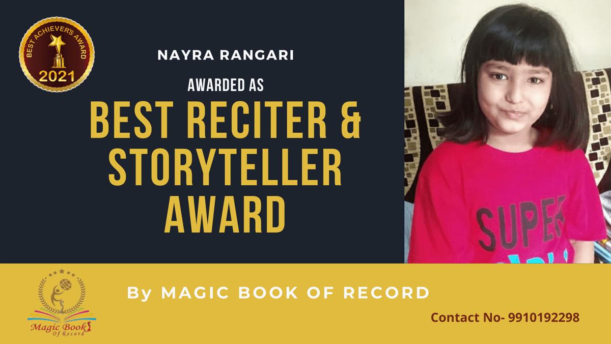 Nayra Rangari-Chhattisgarh-Magic Book of Record