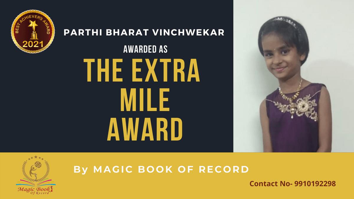 Parthi Bharat Vinchwekar-Maharashtra-Magic Book of Record