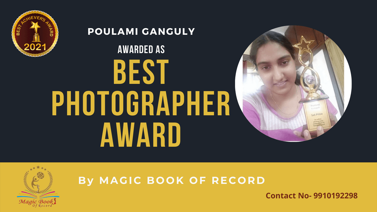 Poulami Ganguly-West Bengal- Magic Book of Record