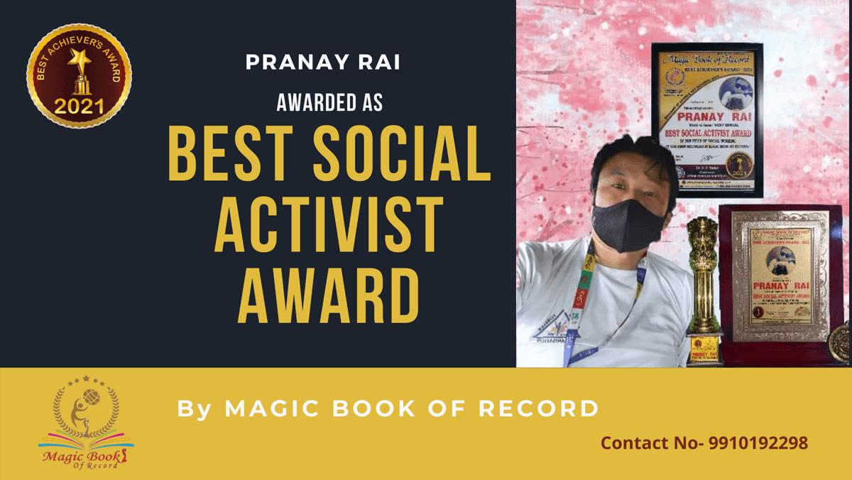 Pranay Rai-West Bengal-Magic Book of Record