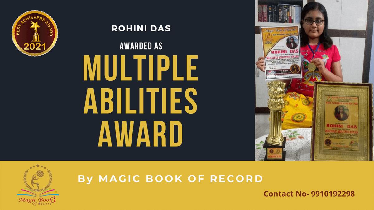Rohini Das-West Bengal-Magic Book of Record