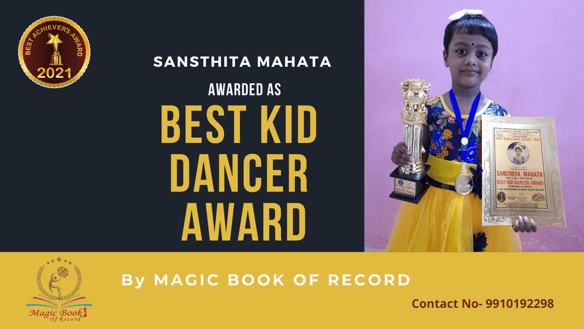 Sansthita Mahata-West Bengal- Magic Book of Record