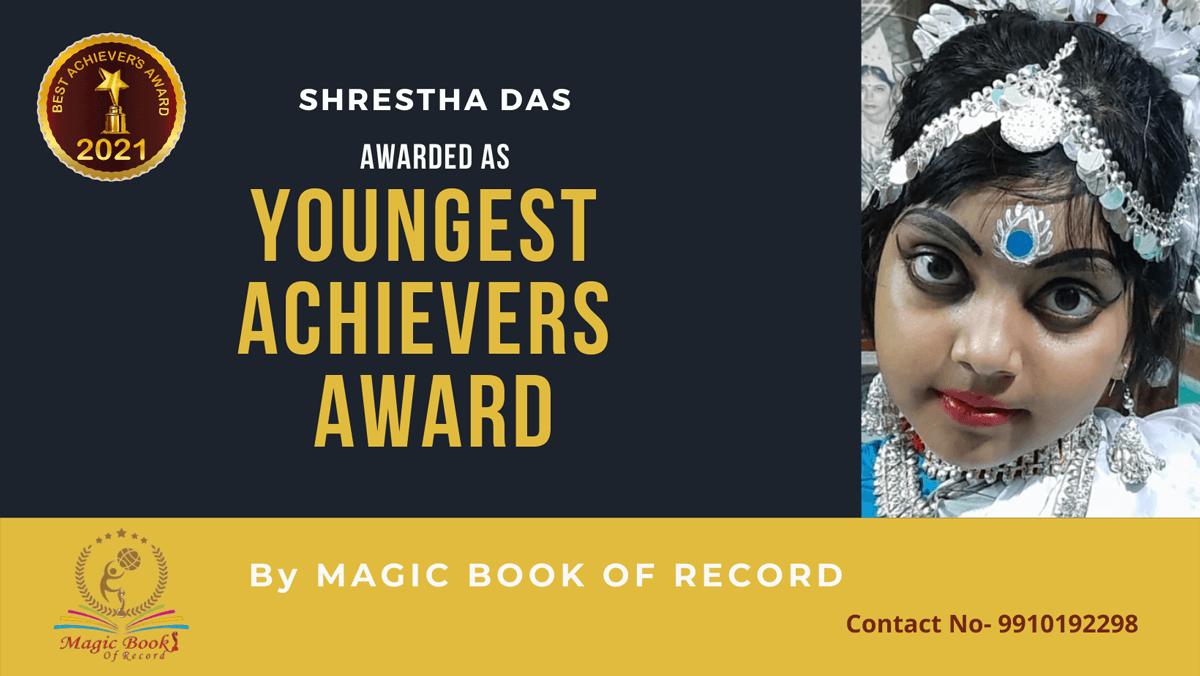 Shrestha Das-West Bengal-Magic Book of Record