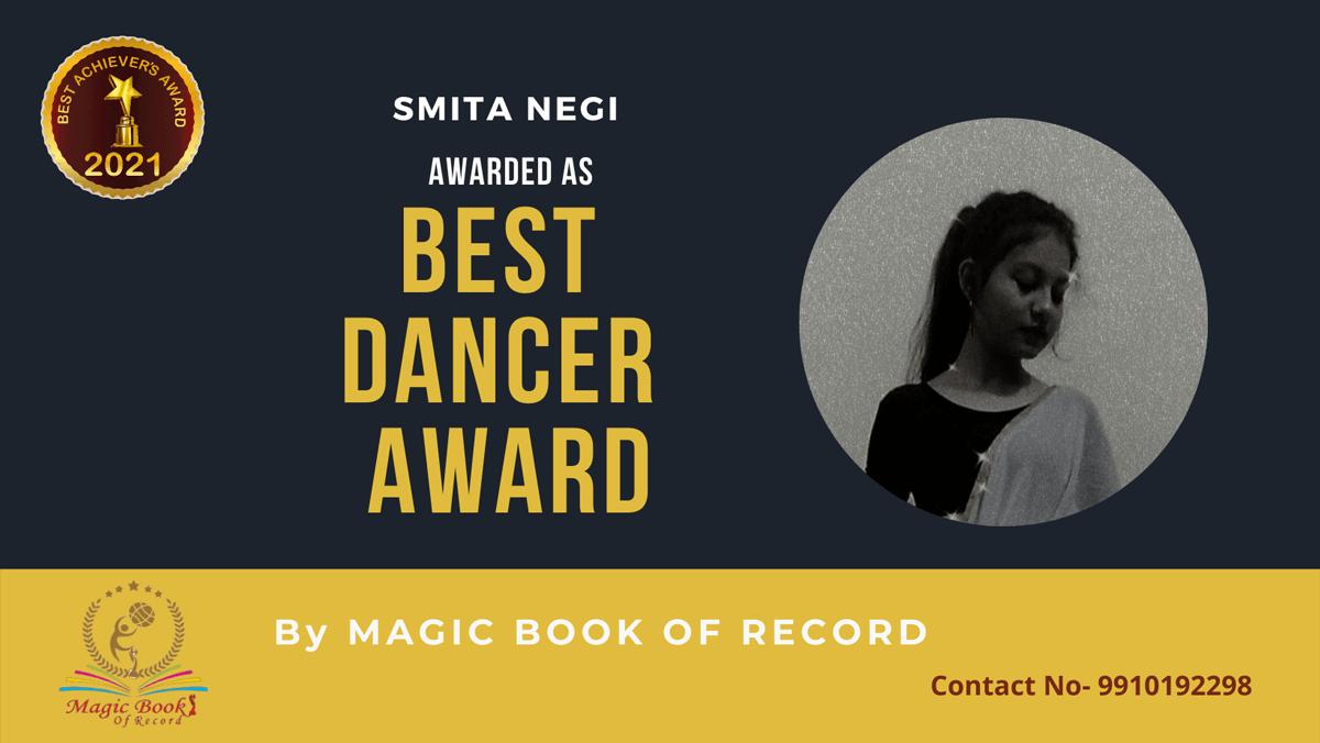 Smita Negi-Uttarakhand-Magic Book of Record